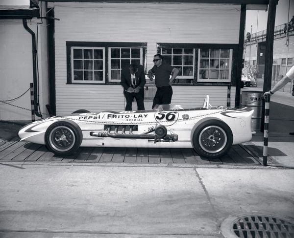 The last Roadster to qualify for the Indianapolis 500
