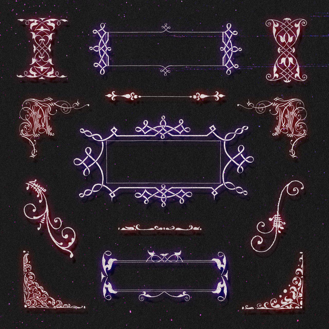 أدوات التصميم و المونتاج ملحقات رمزيات خلفيات سكرابز خطوط خامات برامج صوتيات مخطوطات للتصميم والمونتاج Victorian Frame Vintage Illustration Antique Artwork