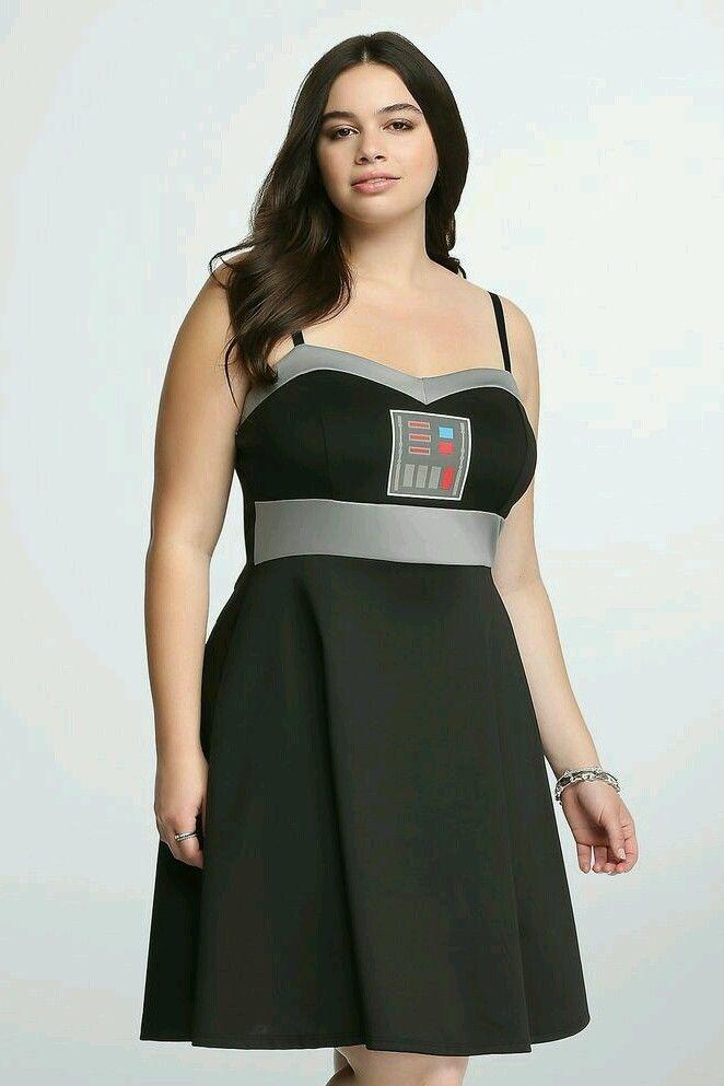 3b3c8d9c56 Torrid Star Wars Darth Vader dress 00 NWT L 10 cosplay Halloween ...
