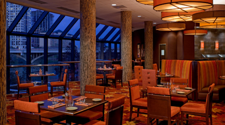 The Southwest Bistro is situated on the second level of the Hyatt Regency Austin's atrium and offers Southwestern cuisine with seasonal ingredients. Their For Kids by Kids menu provides nutritious offerings from children developed by food pioneer Alice Waters and tested by kids.