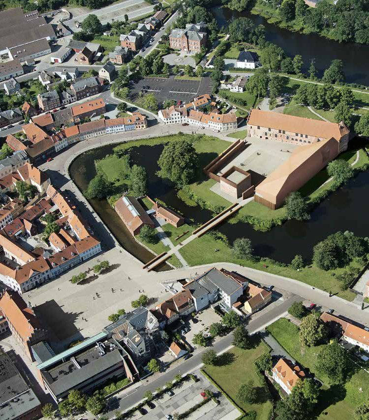 Nieto Sobejano . Castle site transformation . Nyborg  (1)