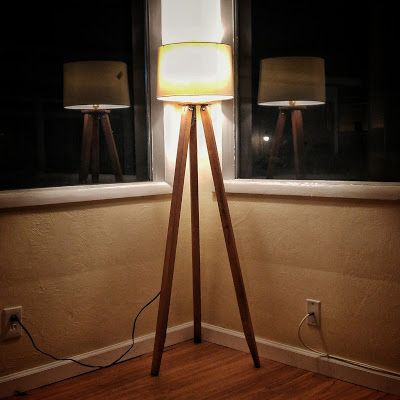 Scratch diy tripod standing lamp crafts scratch craft diy tripod standing lamp solutioingenieria Image collections