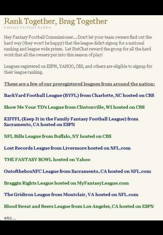 Espn fantasy football money league prizes