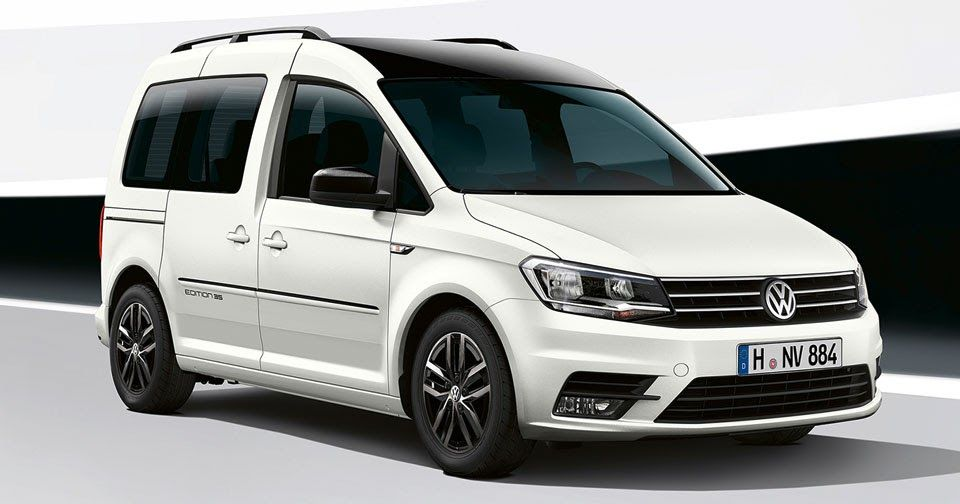 Volkswagen Rolling Out Caddy Edition 35 At Hannover Commercial Show Carscoops Volkswagen Caddy Volkswagen New Cars