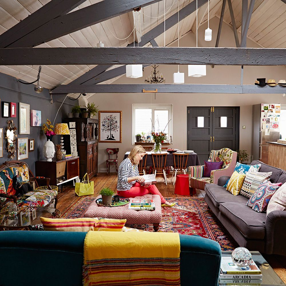 Inside Tv Presenter Sophie Robinson S Colourful Home Great