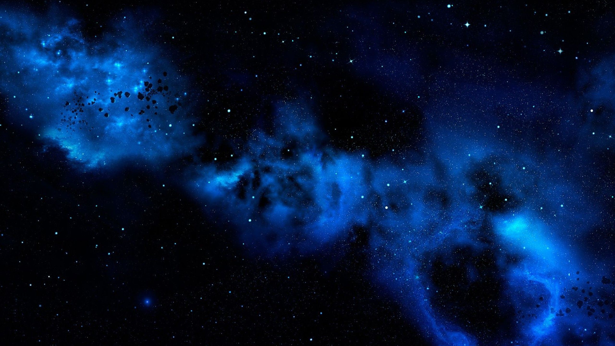wallpapers galaxy blue nebula hd get 2560x1440 galaxies