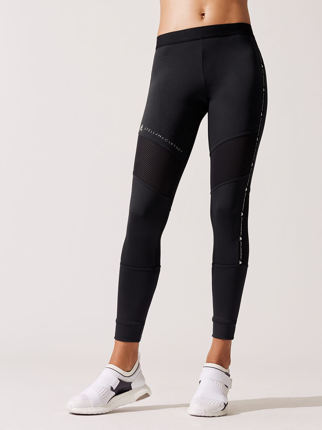 324a570d44b94d Performance Essential Long Tight Leggings in Black by Adidas By Stella  Mccartney from Carbon38