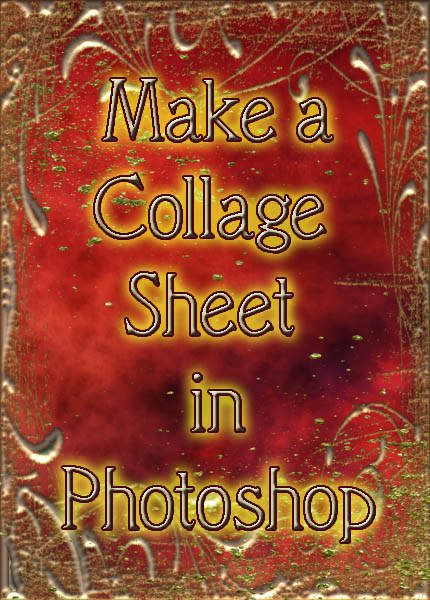 how to create a collage in photoshop