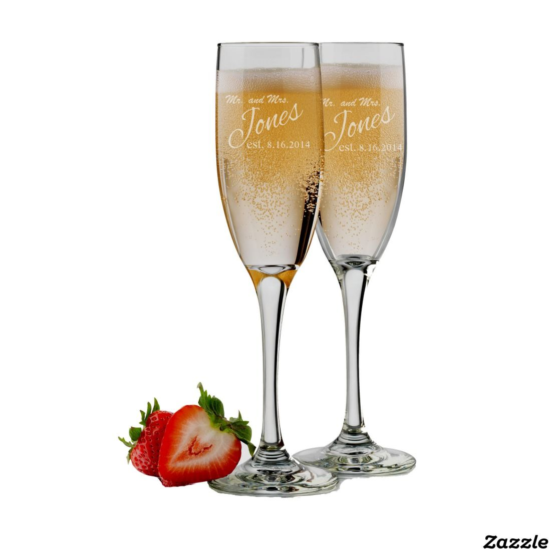 Wedding Toasting Glasses Mr and Mrs Personalized Champagne Flutes Set of 2 Engraved Toasting Glasses Custom Champagne Glasses
