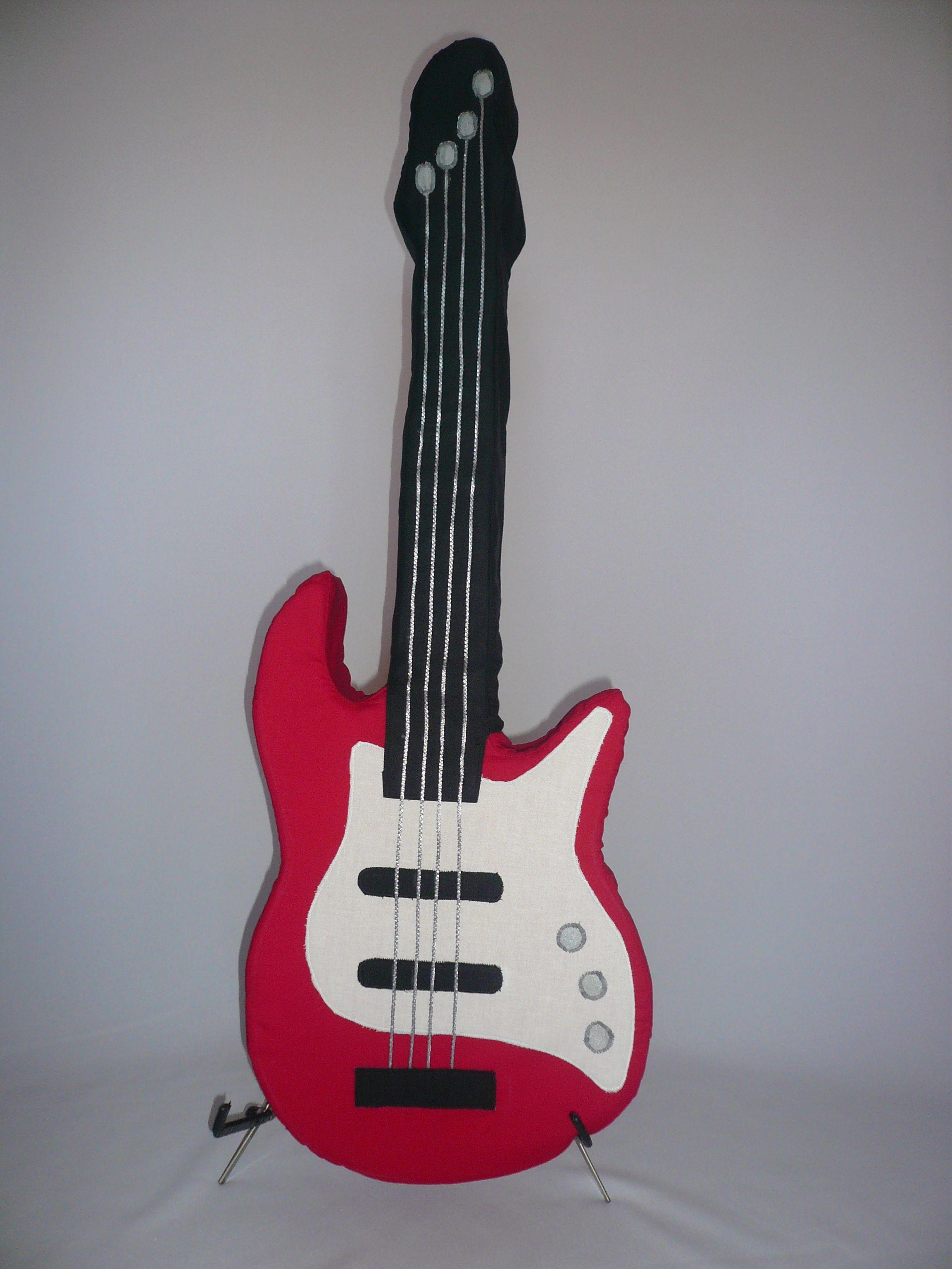 Gitarren Kissen E Bass Kissen zu verkaufen