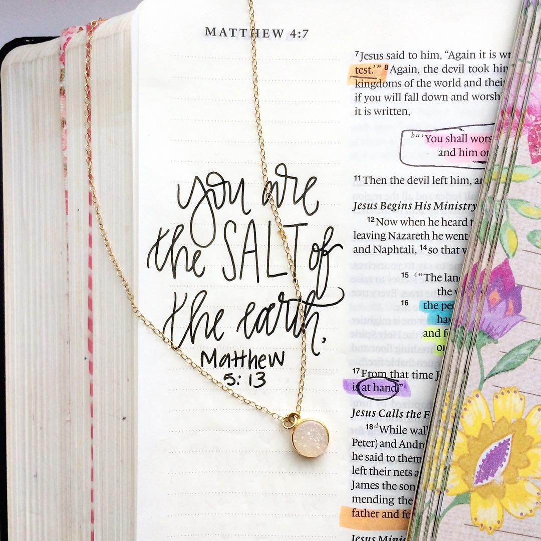 Matthew 5 13 Tells Us That We Are The Salt Of The Earth