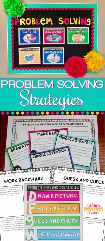 Problem Solving Strategies | Pinterest
