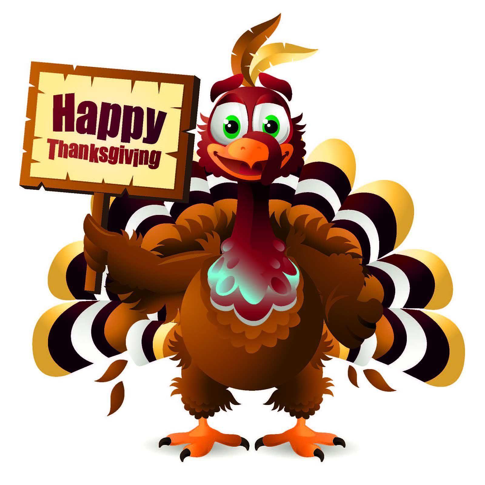 43+ Happy thanksgiving turkey clipart info