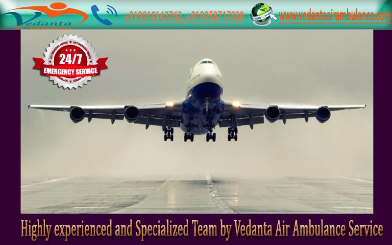 Vedanta Air Ambulance In Varanasi Is The World S Class Air