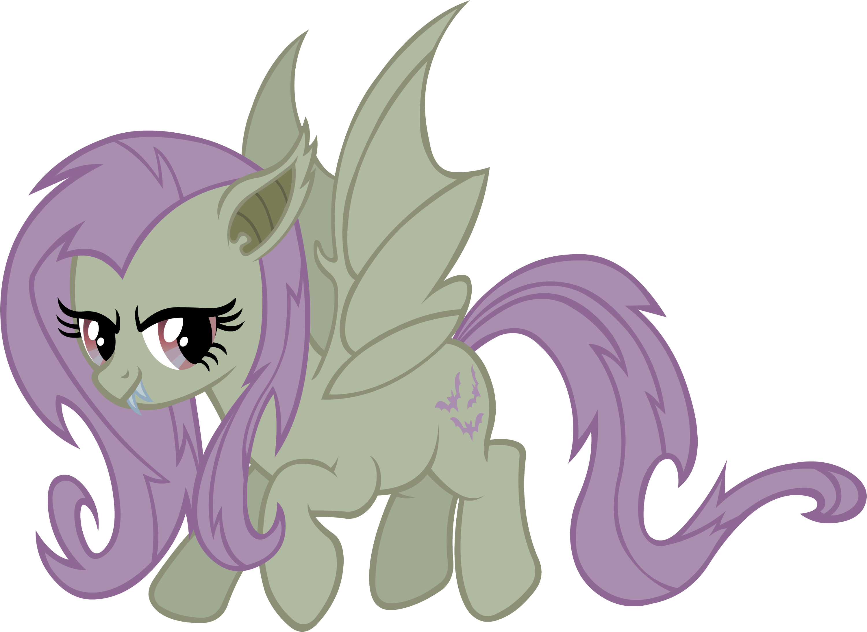 Flutter Shy Vampire Fruit Bat Ponies Pinterest My Little Pony