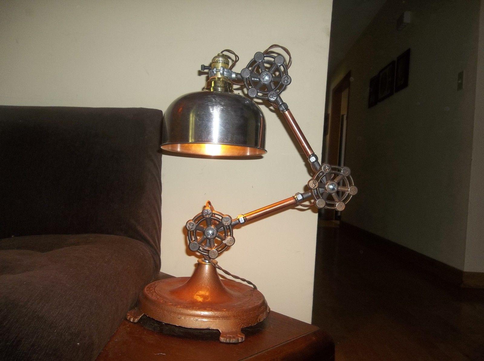 Genial Steampunk Schreibtisch Lampe 17 Bilder Lampen