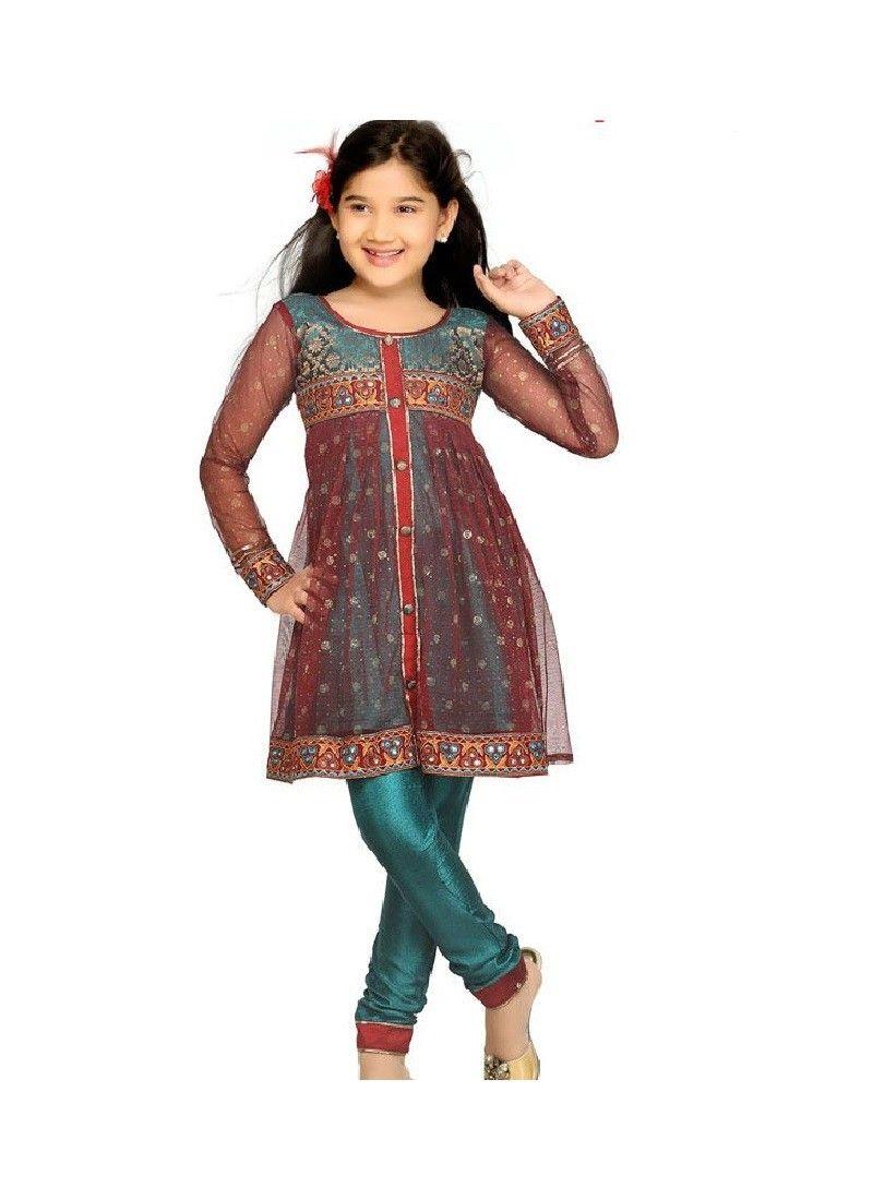 Eid kids kurta shalwar kameez designs 2013 2014 - Buy All Latest Kids Half Sarees Kids Salwar Kameez Designer Kids Kurtis Online Through