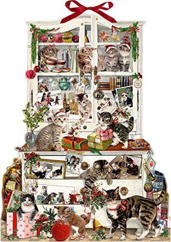 Weltbild Weihnachtskarten.Pin Von Biggi Mey Auf Weihnachten Advent Katzen Und Kalender