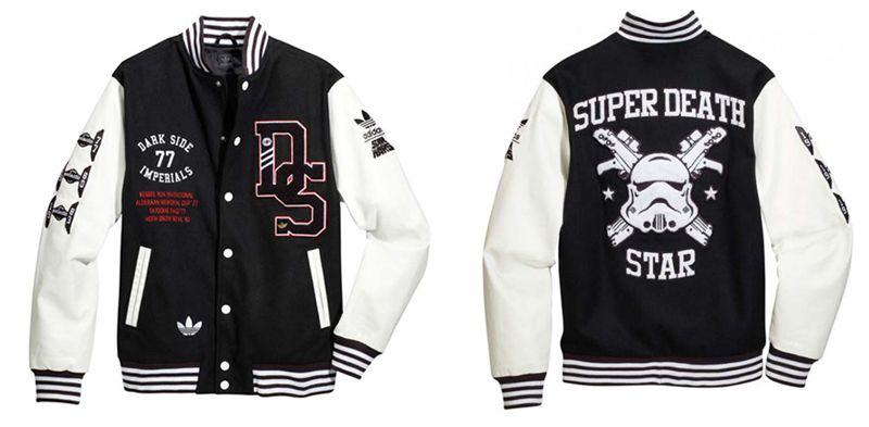 ADIDAS Stormtrooper varsity jacket. So unbelievably fresh