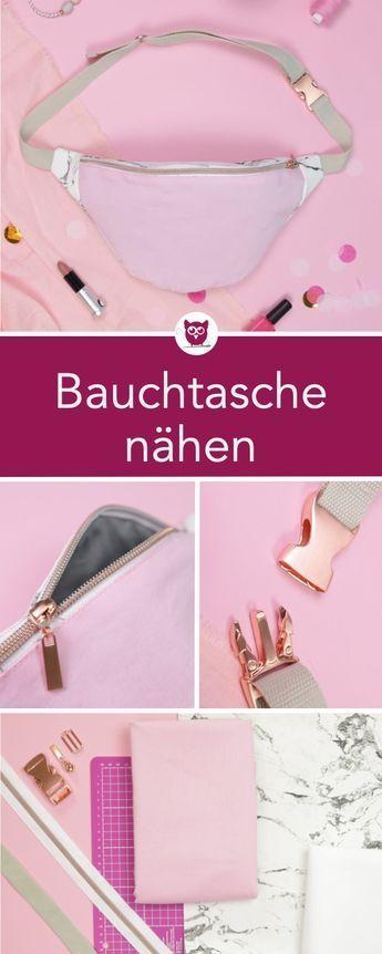 #BauchtascheBabsi de #DIYeuleBuch: cosiendo bolsos clásicos del vientre del arte …