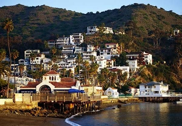 Catalina Island, California (average highs of 64/65 in
