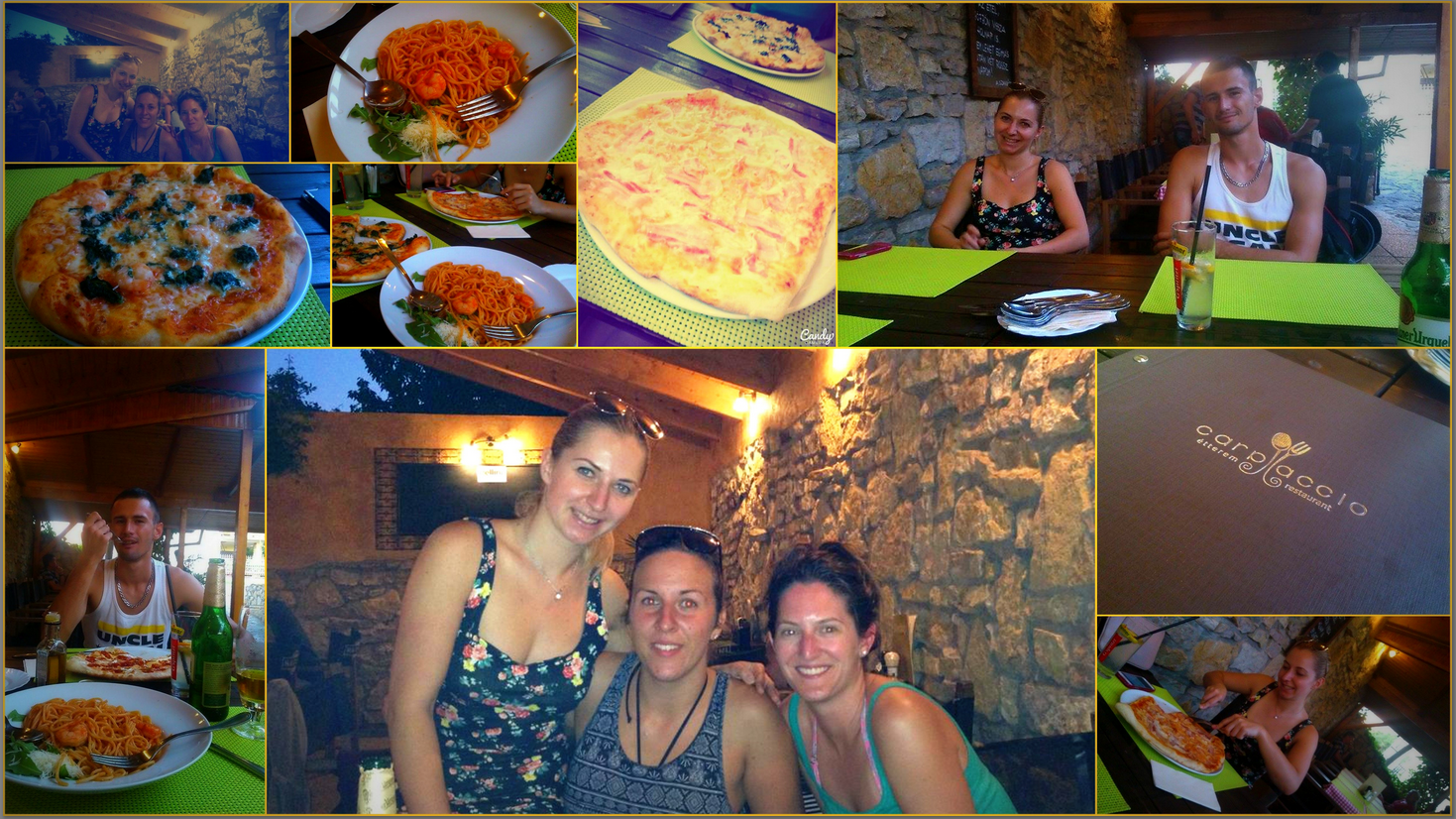 Restaurant Carpaccio finally done! :) 2015.08.30. with my friends.