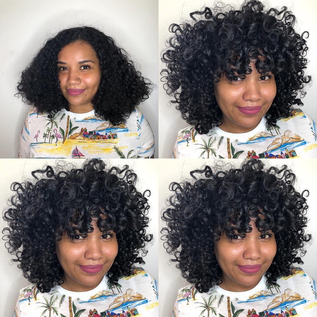 Afbeelding Kan Het Volgende Bevatten 4 Mensen Close Up Curly Hair Styles Short Curly Hair Hair Styles