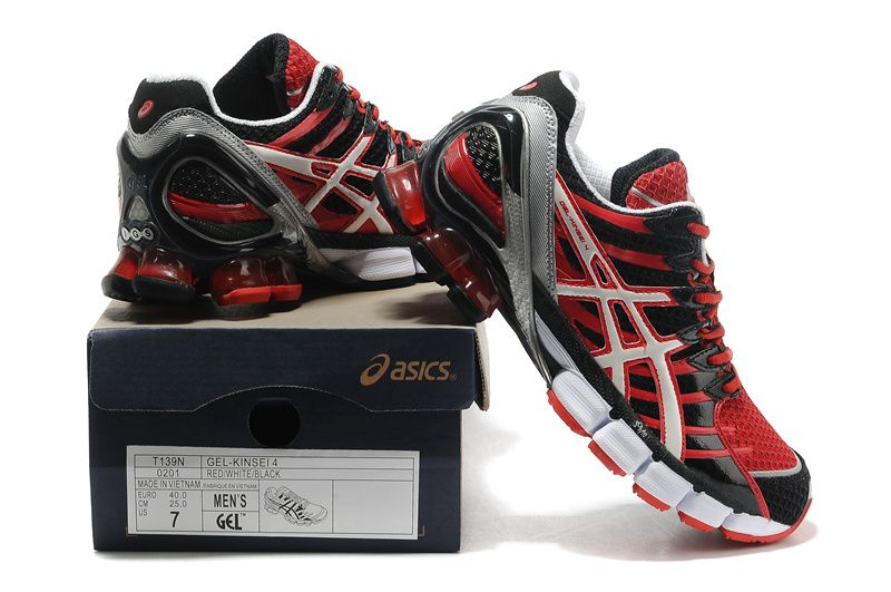 finest selection aed3f d8f01 Asics Gel-Kinsei 4 Men s Red White Black