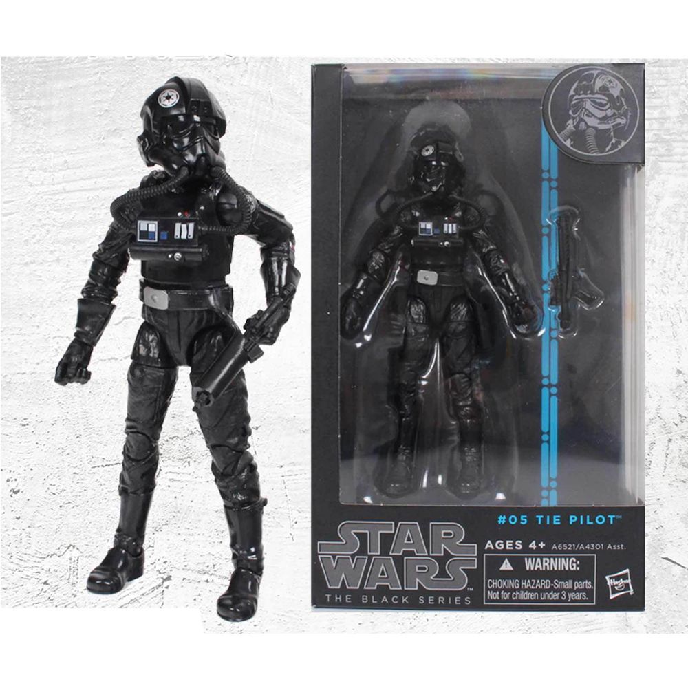 Starwars Black Series Legend Figure Tie Pilot #Hasbro