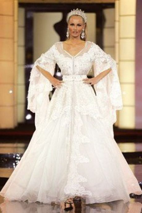 Robe mariage orientale