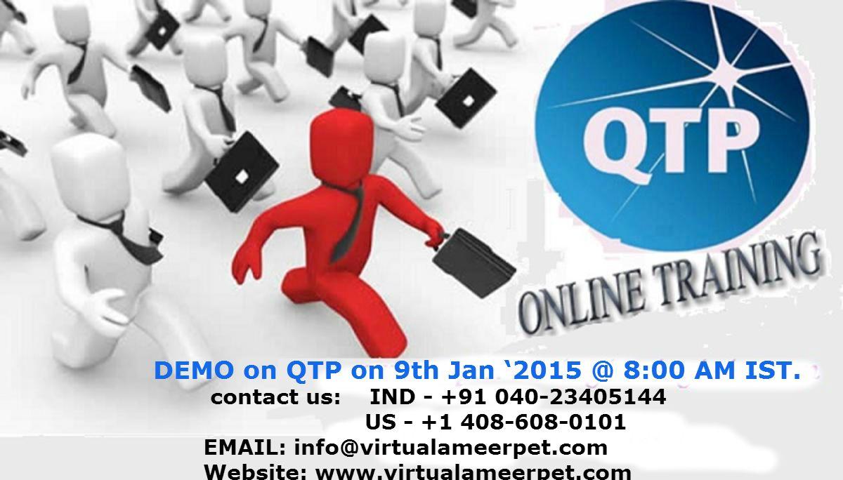 QTP Online Free Demo www. Demo on