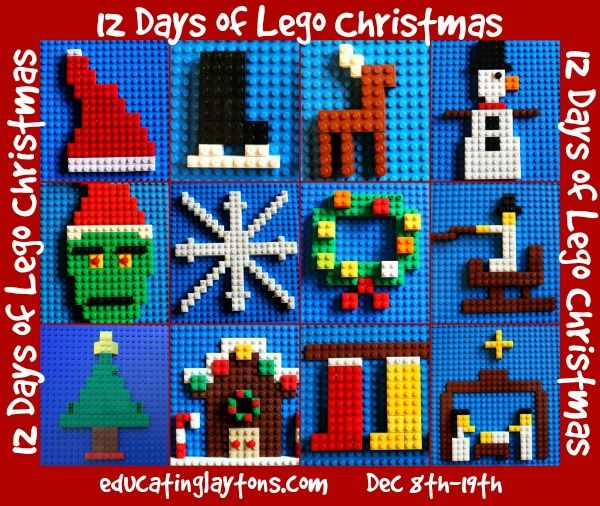 12 Days of Lego Christmas Themes Lego Pinterest Lego christmas