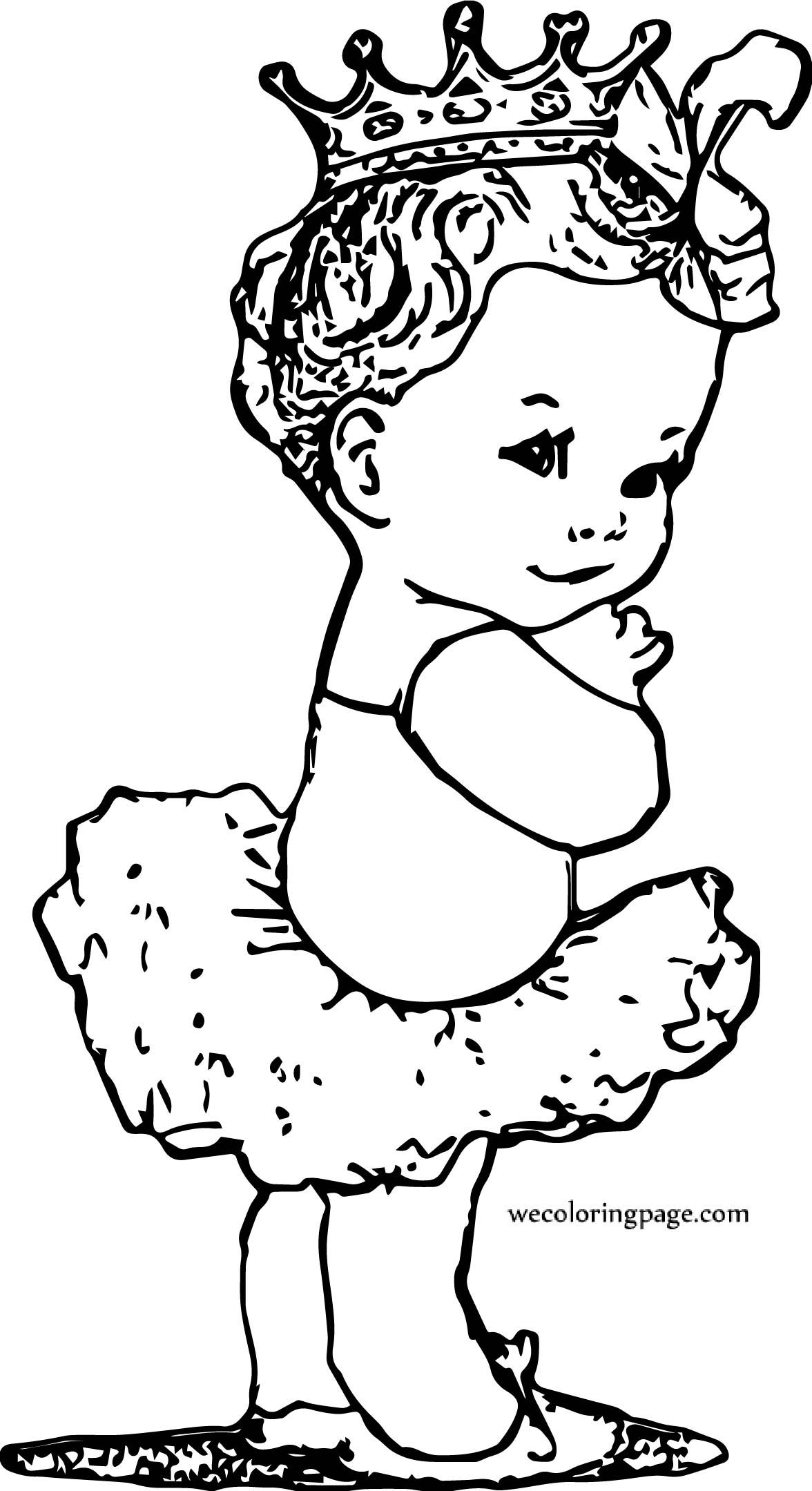 Baby Girl Free Printable Coloring Page Baby Coloring Pages Coloring Pages For Girls Coloring Pages