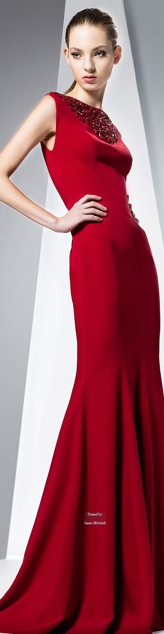 Georges Hobeika Ready-to-Wear Fall-winter 2015-2016 #Fashion #WomensFashion #HauteCouture #Style #DesignerDresses #Silk #Lace bitinformed.com