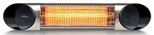 Veito Blade Mini Wickeltischstrahler IP55 - 600W bis 1200 W mit Fernbedienung. Preis: €199,95 #veito #baby #babypflege #heizstrahler #wärmestrahler #bad #gesundheit #wellness #wickeln #design #infrarotstrahler