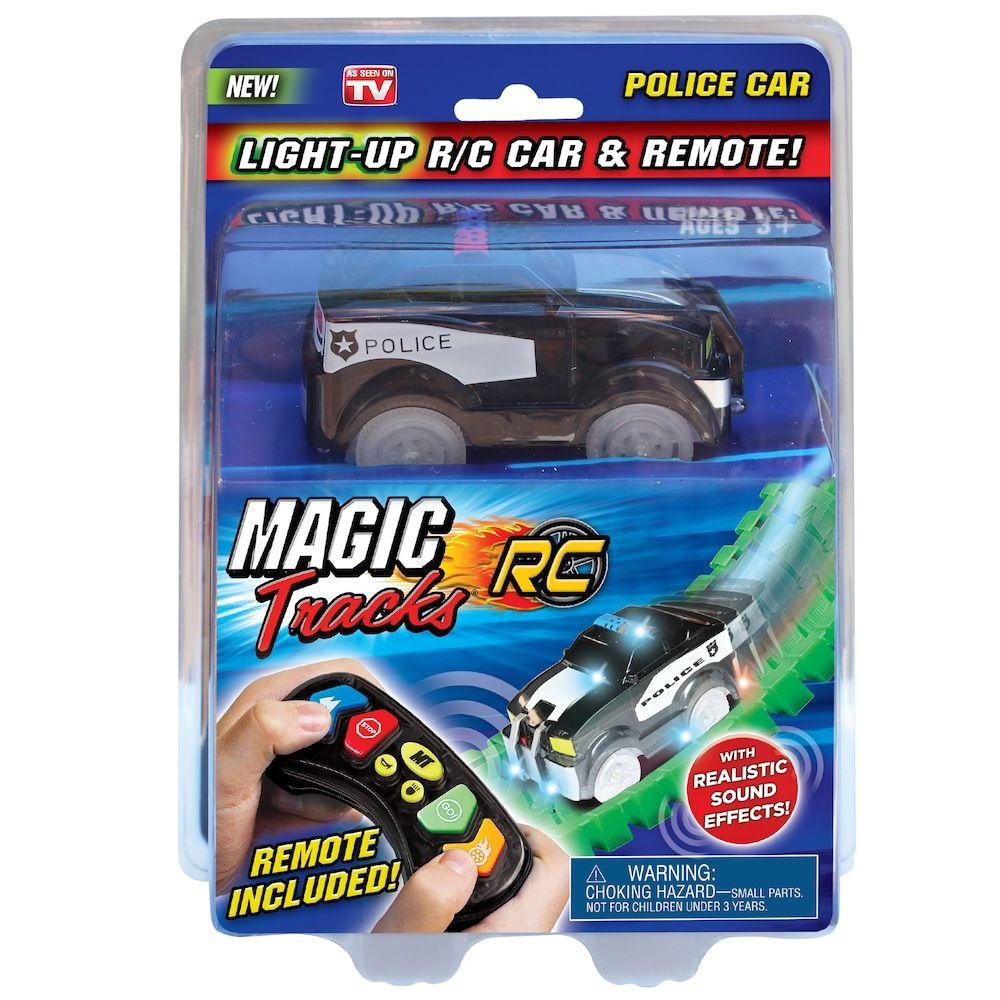 Magic tracks lightup remote control car black in 2020
