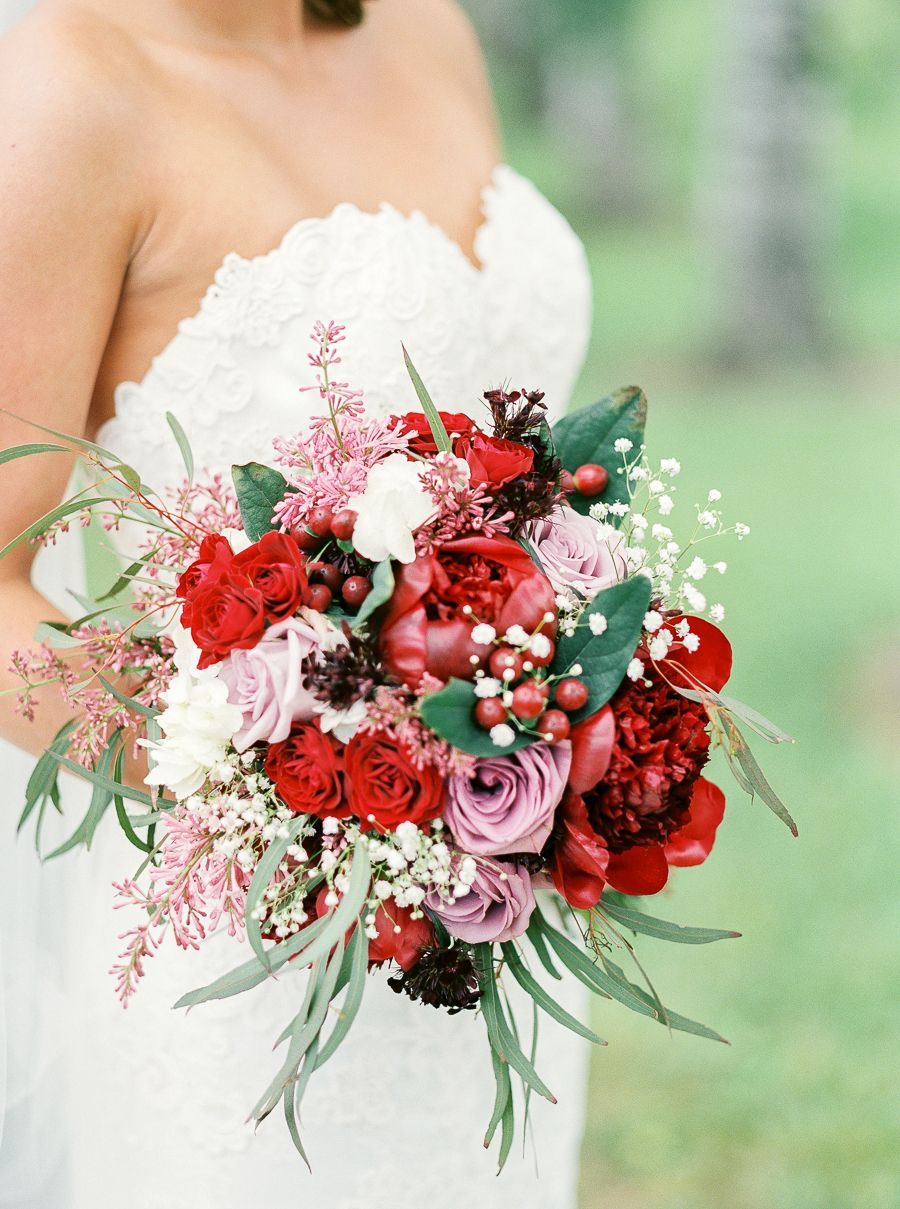 The Best Bouquets Of 2015 Wedding Wedding And Red Wedding