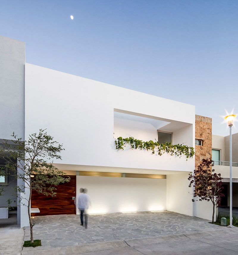 12 minimalist modern house exteriors from around the world for Modern minimalist house facade