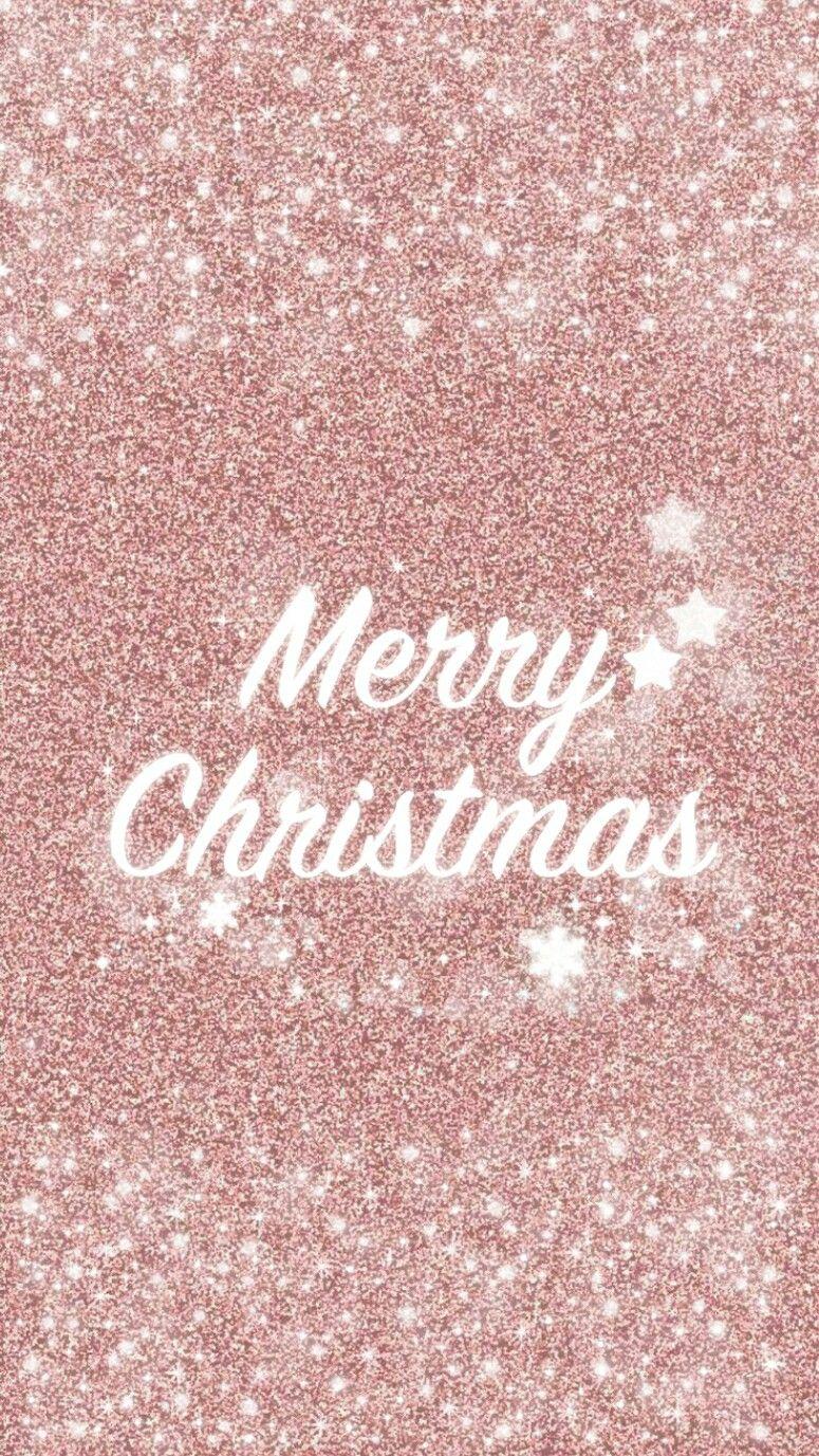 Merry Xmas Wallpaper Iphone Christmas Rose Gold Wallpaper Cute Christmas Wallpaper