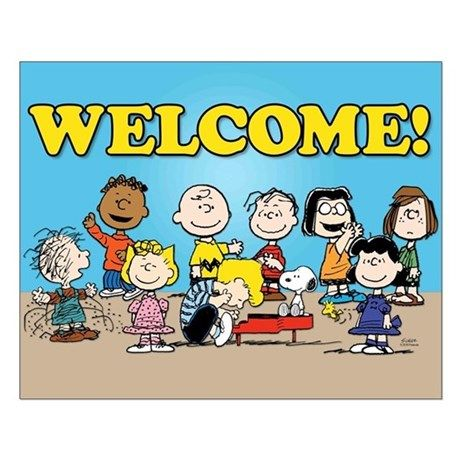 Peanuts Gang-Welcome Posters