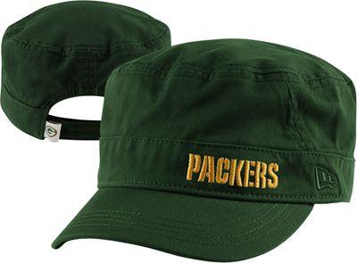 b76813fd Green Bay Packers Women's New Era Team Military Hat #packerbacker ...