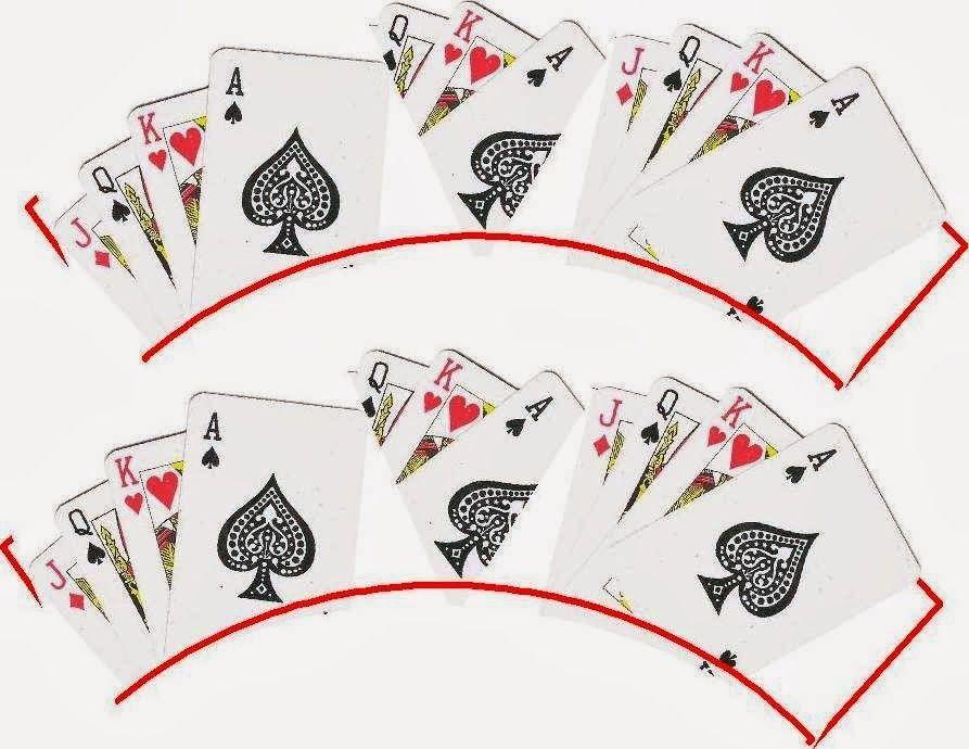 printable scallop gambling games card