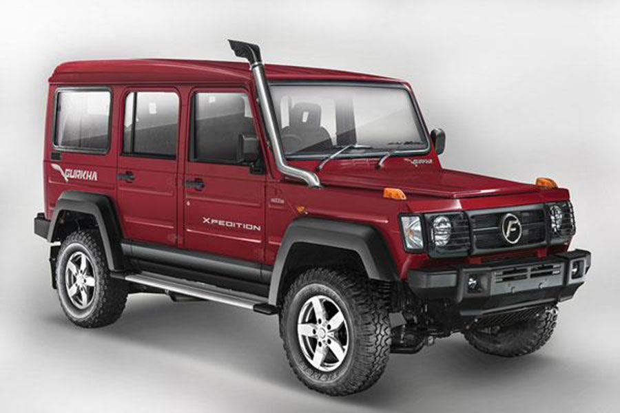 New Updated 2017 Force Gurkha Launched At Inr 8 38 Lakhs Offroad Vehicles Car Prices Bike News
