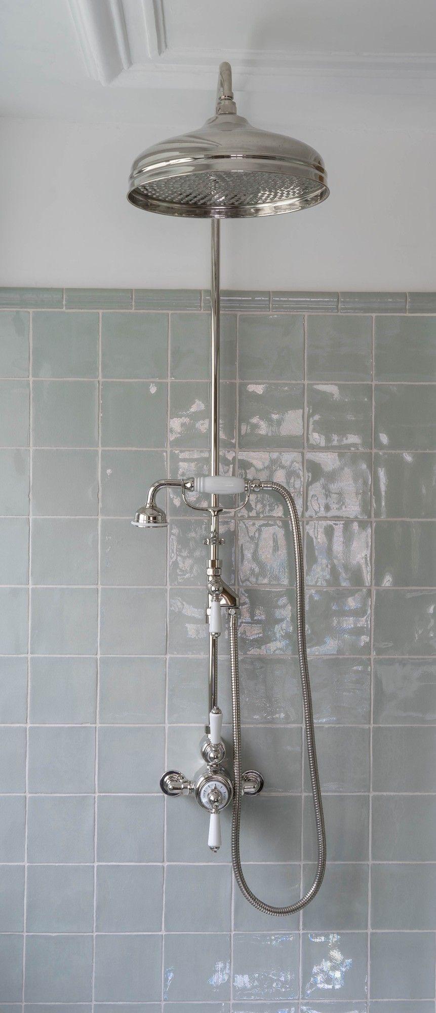 Duschbrause Modell Ascot Mit Passender Thermostat Duscharmatur Diese Besticht Besonders Durch Die Ausstattung Mit Echten Porze Duschbrause Duscharmatur Dusche