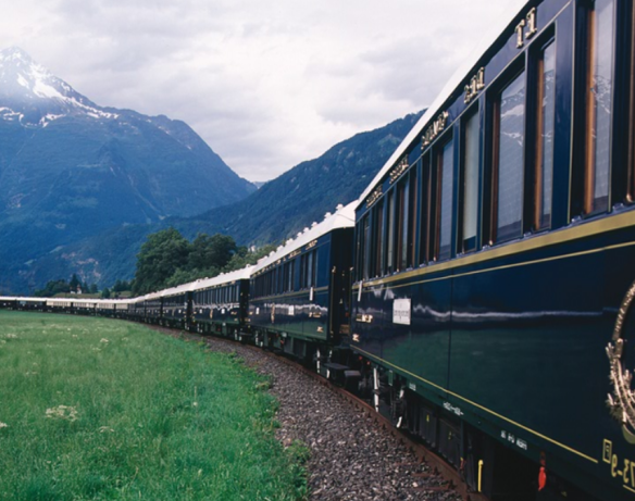 orient express train from outside