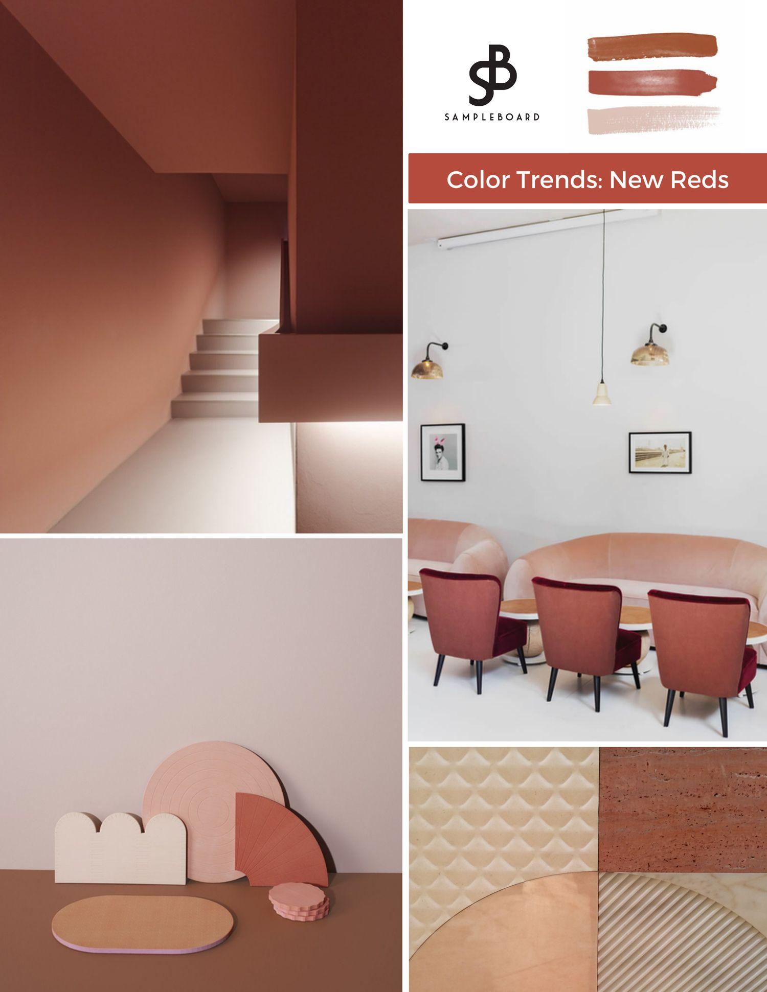 Interior Color Trend New Reds Will Shape 2020 Interior Design