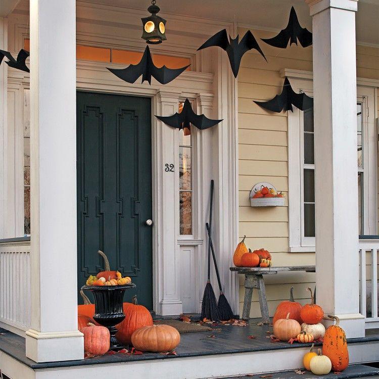 9 Scary  Brilliant Outdoor Halloween Decoration Ideas Pinterest - halloween decoration ideas home