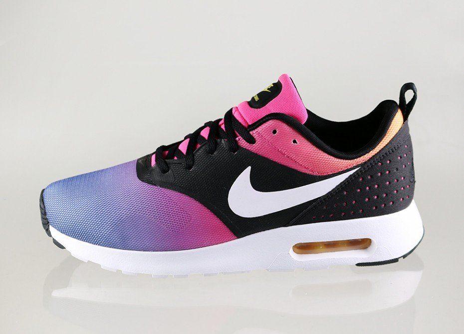 free shipping 165ea ae5bf ... Nike Air Max Tavas SD (Black White - Pink Pow - True Yellow) ...