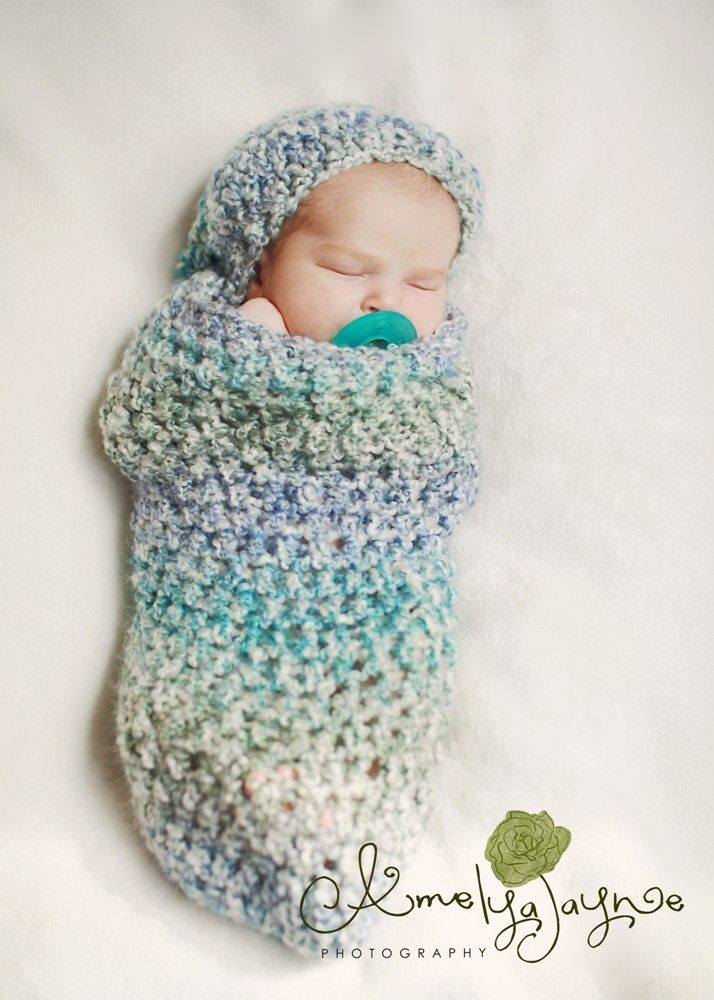 Baby Boy Baby Cocoon Newborn Cocoon Crochet Cocoon by azek2000 ...