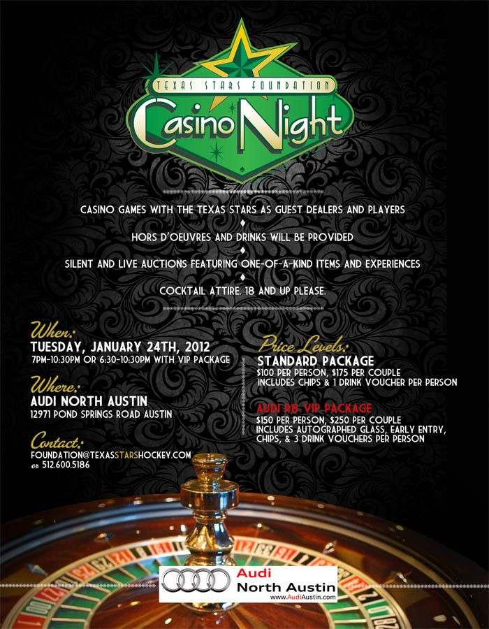 Fundraising casino night ideas legal gambling age in france